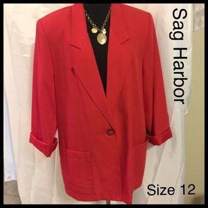 Sag Harbor Blazer Size 12